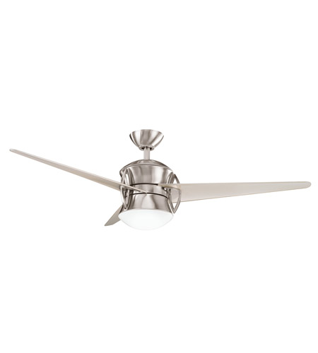 Kichler 300125BSS Cadence Brushed Stainless Steel with Champagne/Clear Blades Fan photo