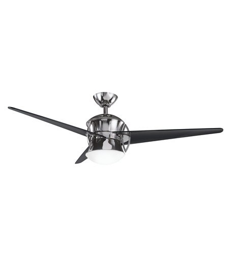 Kichler Lighting Cadence Fan in Midnight Chrome 300125MCH