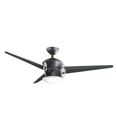 Kichler Lighting Cadence Fan in Satin Black 300125SBK