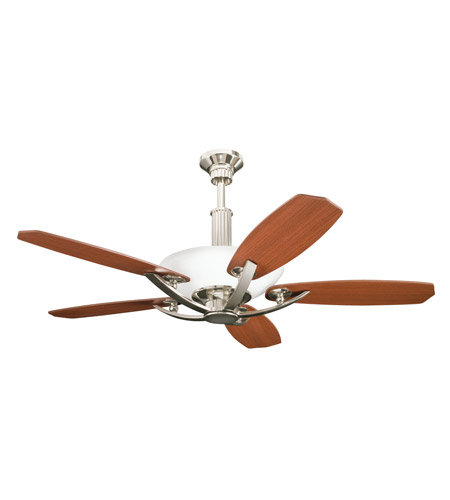 Kichler 300126PN Palla Polished Nickel with Maple Blades Fan photo