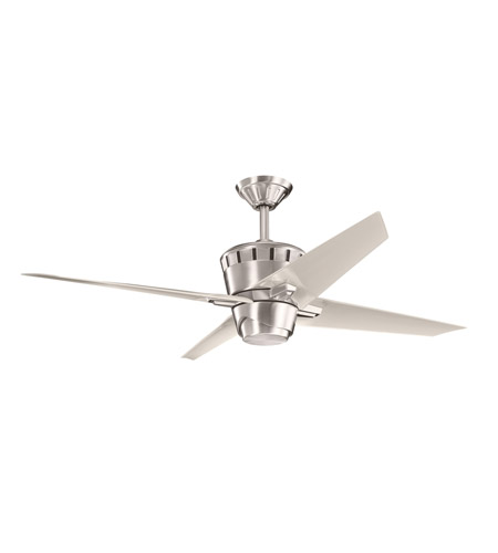 Kichler Lighting Kemble Fan in Brushed Stainless Steel 300132BSS