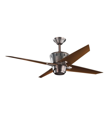Kichler Lighting Kemble Fan in Oil Brushed Bronze 300132OBB
