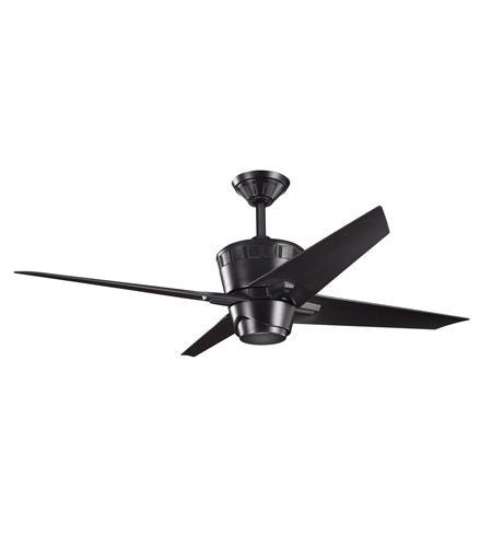 Kichler Lighting Kemble Fan in Satin Black 300132SBK photo
