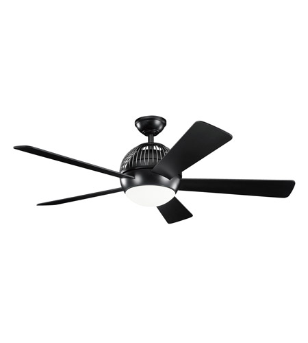 Kichler Lighting Botella Fan in Satin Black 300134SBK photo