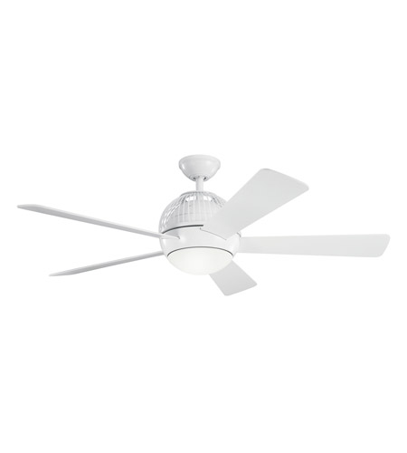 Kichler Lighting Botella Fan in White 300134WH