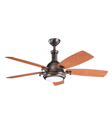 Kichler Lighting Saint Andrews 1 Light Fan in Oil Brushed Bronze 300135OBB photo
