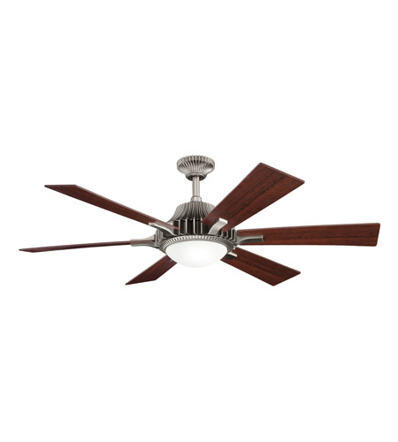 Kichler 300136AP Valkyrie Antique Pewter with Cherry Ms-98514 Blades Fan photo