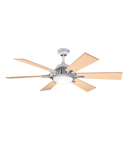 Kichler Lighting Valkyrie 3 Light Fan in Brushed Aluminum 300136BA photo