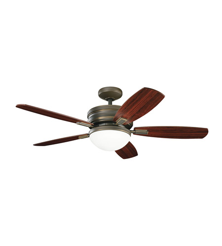 Kichler 300138OLZ Carlson Oiled Bronze with Cherry Ms-98510 Blades Fan photo