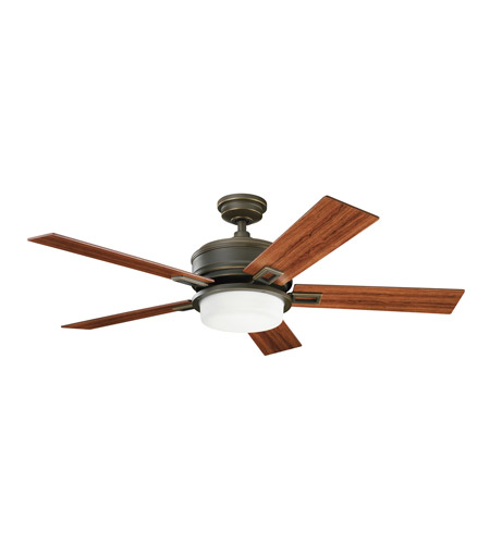 Kichler Lighting Talbot 3 Light Fan in Oiled Bronze 300140OLZ photo