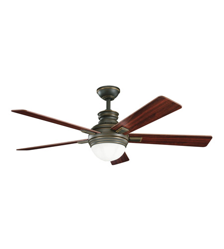 Kichler Lighting Brookfield Fan in Oiled Bronze 300141OLZ photo