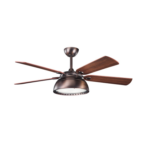 Kichler Lighting Vance 3 Light Fan in Oil Brushed Bronze 300142OBB