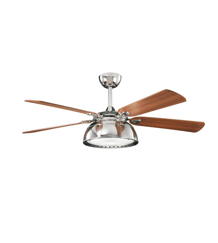 Kichler Lighting Vance 3 Light Fan in Polished Nickel 300142PN