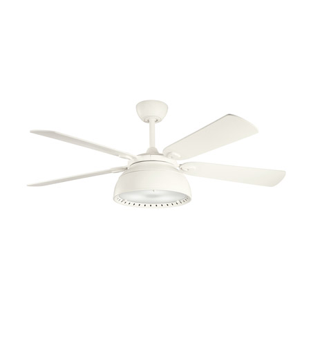 Kichler Lighting Vance 4 Light Fan in Satin Natural White 300142SNW