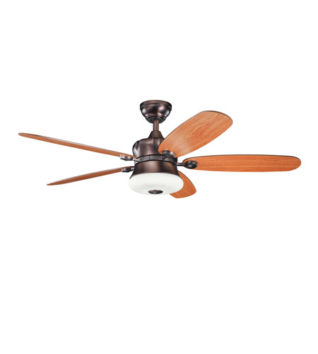 Kichler Lighting Fitch 3 Light Fan in Oil Brushed Bronze 300144OBB photo