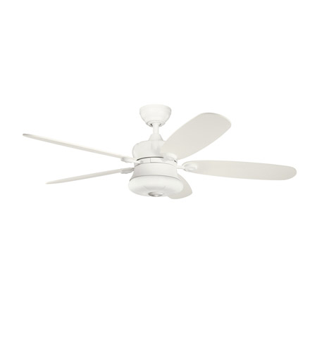 Kichler Lighting Fitch 3 Light Fan in Satin Natural White 300144SNW