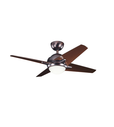 Kichler Lighting Rivetta 1 Light Fan in Oil Brushed Bronze 300147OBB