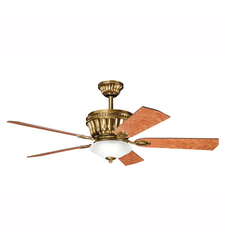 Kichler Lighting Dorset Fan in Burnished Antique Brass 300152BAB photo