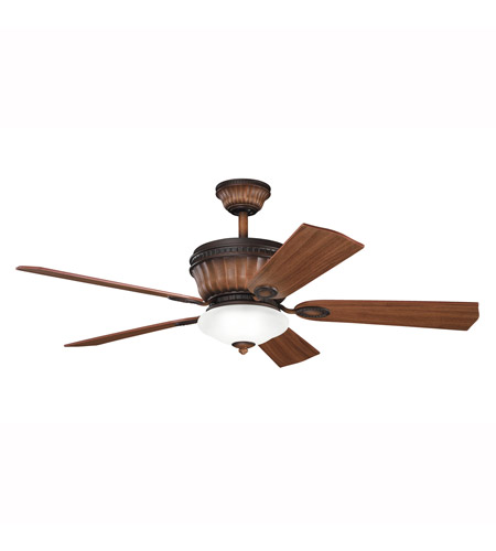 Kichler Lighting Dorset Fan in Mediterranean Walnut 300152MDW
