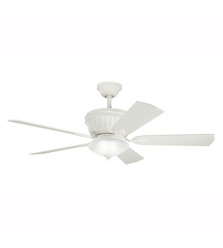 Kichler Lighting Dorset Fan in Satin Natural White 300152SNW photo