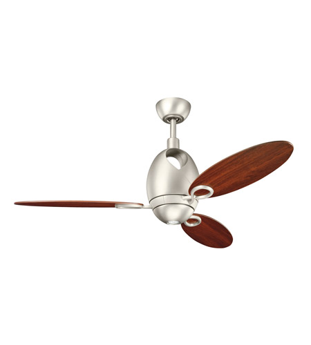 Kichler Lighting Merrick 1 Light 52 inch Fan in Brushed Nickel 300155NI7 photo
