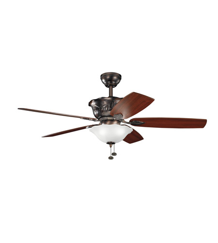 Kichler Lighting Tolkin 3 Light 52 inch Fan in Oil Brushed Bronze 300159OBB photo