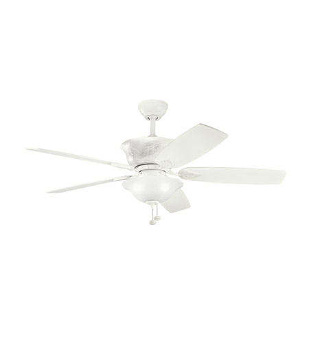 Kichler Lighting Tolkin 3 Light 52 inch Fan in Satin Natural White 300159SNW photo