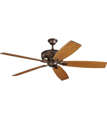 Kichler 300206OBB Monarch 70 Inch Oil Brushed Bronze With Cherry/Walnut  Blades Ceiling Fan Photo