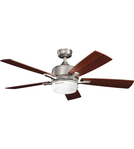 Kichler Lighting Leeds 2 Light Fan in Antique Pewter 300427AP