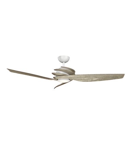 Matte White Steel Indoor Ceiling Fans
