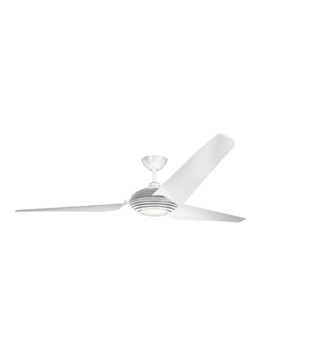 White Polycarbonate Indoor Ceiling Fans