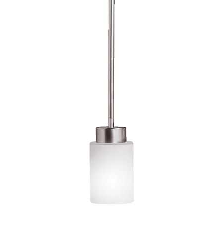Kichler Lighting Modena 1 Light Mini Pendant in Brushed Nickel 3030NI photo