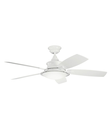 Kichler Lighting Cameron 3 Light Fan in White 310104WH