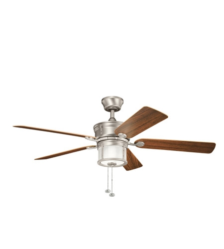 Kichler Lighting Deckard 3 Light Fan in Brushed Nickel 310105NI
