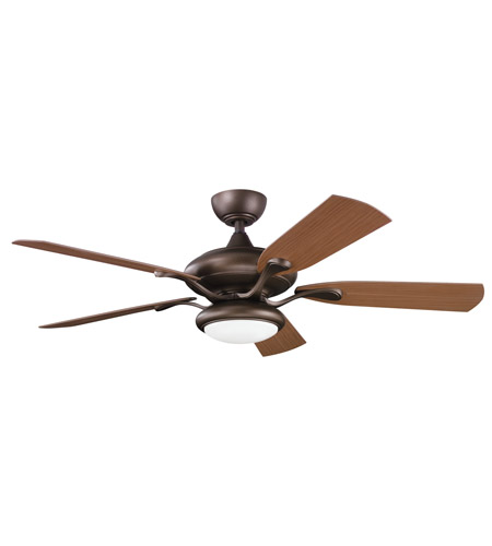 Kichler Lighting Aldrin Patio Fan in Weathered Copper Powder Coat 310127WCP photo