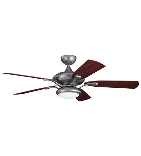 Kichler Lighting Aldrin Patio Fan in Weathered Steel Powder Coat 310127WSP