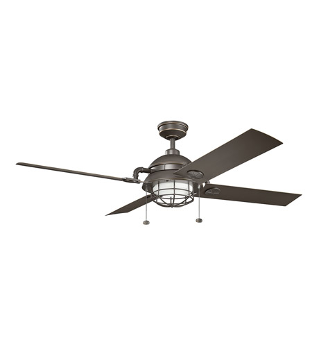 Kichler 310136OZ Maor 65 inch Olde Bronze Ceiling Fan photo