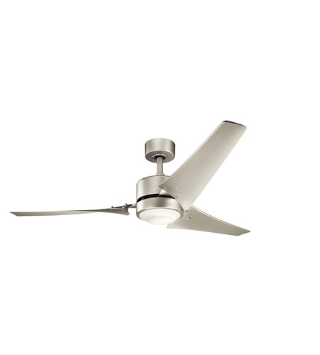 Giant 60 Ceiling Fan Price: Kichler 310155NI Rana 60 Inch Brushed Nickel With Nickel