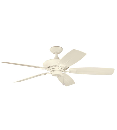 Kichler Lighting Canfield Patio Fan in Adobe Cream 310192ADC