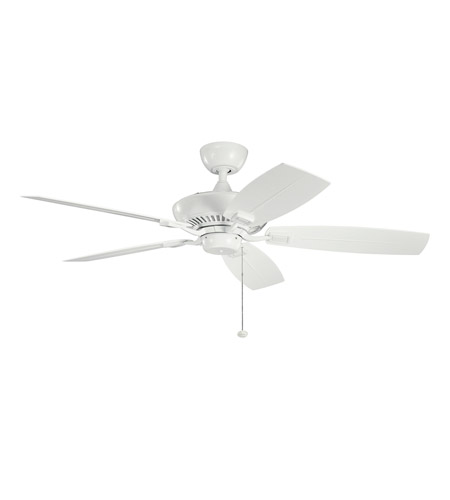 Kichler 310192WH Canfield White White Outdoor Fan photo
