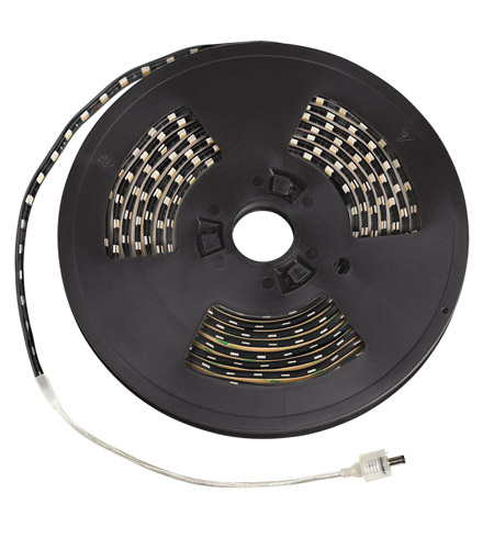 Kichler Lighting Exterior LED Tape IP67 High Output Green 10ft in Black Material 310HGBK