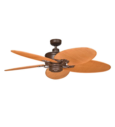 Kichler Lighting Crystal Bay Fan in Tannery Bronze Powder Coat 320102TZP