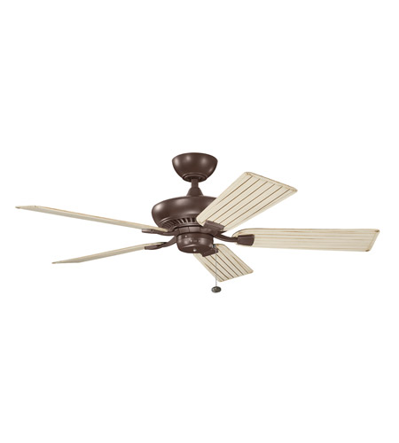 Kichler 320500CMO Canfield 52 inch Coffee Mocha with CMO (ABS) Blades Outdoor Fan photo