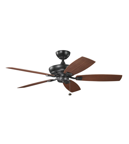 Kichler Climates Fan Blade Set in Weathered Copper Powder Coat 371015 photo