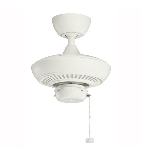 Kichler 320500SNW Canfield Satin Natural White with Blades Sold Separately Outdoor Fan photo
