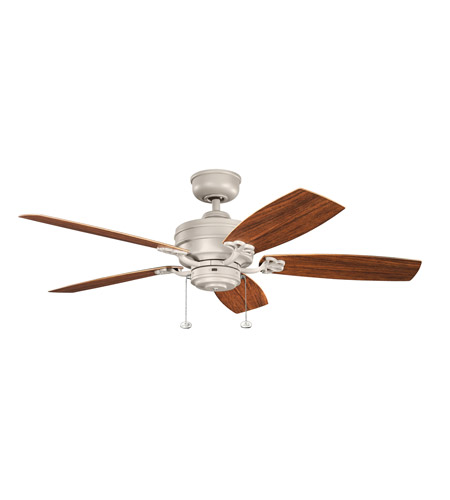 Kichler Climates Fan Blade Set in Weathered Copper Powder Coat 371016 photo