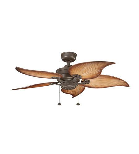 Kichler Lighting Crystal Bay Fan in Coffee Mocha (Blades Sold Separately) 320510CMO photo