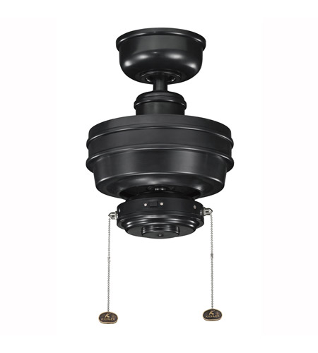 Kichler Lighting Crystal Bay Fan in Satin Black (Blades Sold Separately) 320510SBK photo