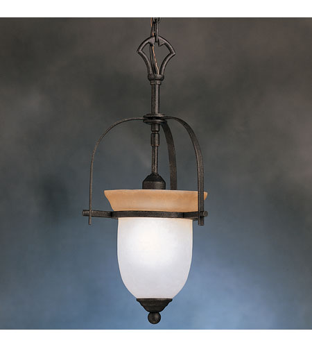 Kichler Lighting Meredith 1 Light Pendant in Distressed Black 3231DBK photo
