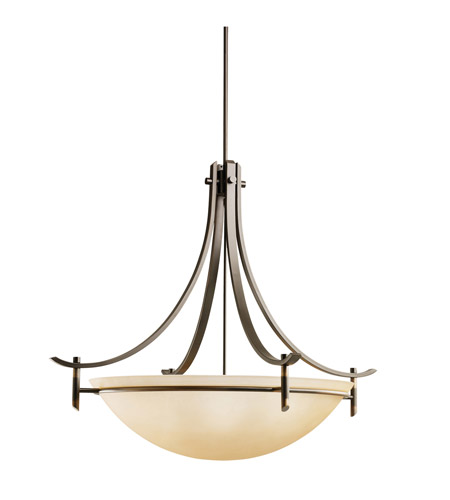 Kichler Lighting Olympia 5 Light Inverted Pendant in Olde Bronze 3279OZ
